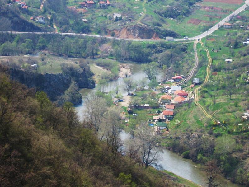 """Село Пастух ,изглед от """"Градището"""""""