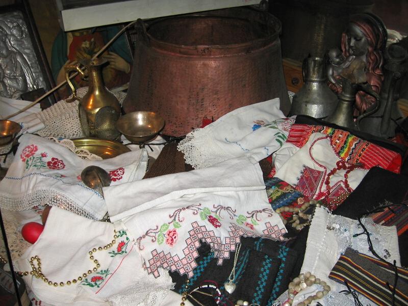 Етнографска сбирка от Сапарево (Горно поле, Дупнишко)