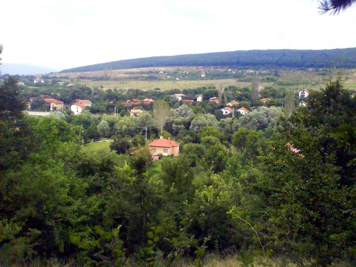 Пейзаж от Горна Диканя