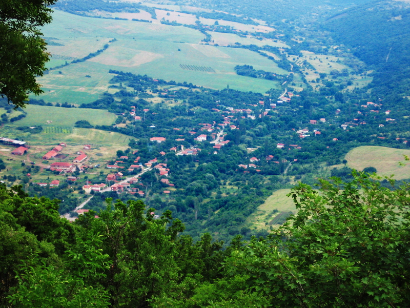 """Горна Козница, изглед от """"Градището"""""""