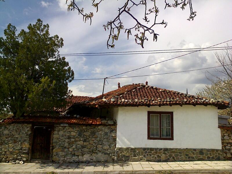Местна архитектура - стара къща в Гюргево (Мацакурово)