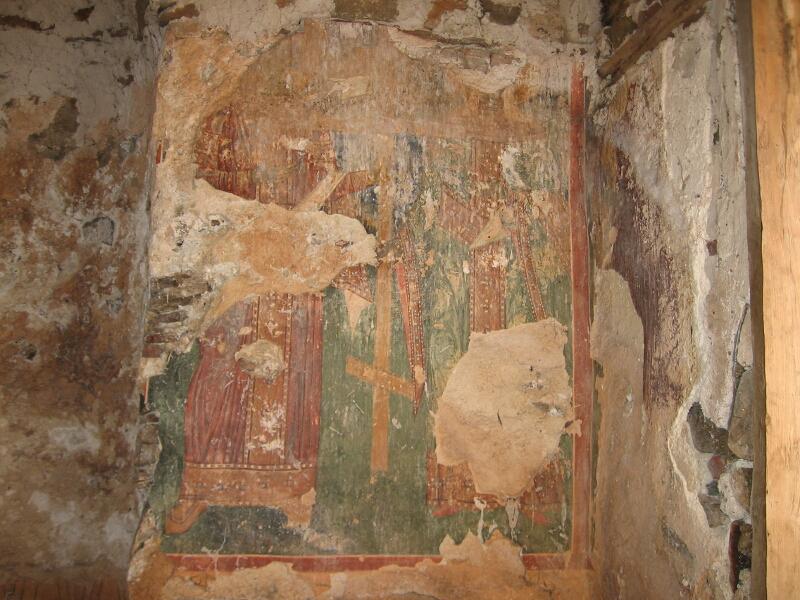 Сегашното състояние на уникалните стенописи
