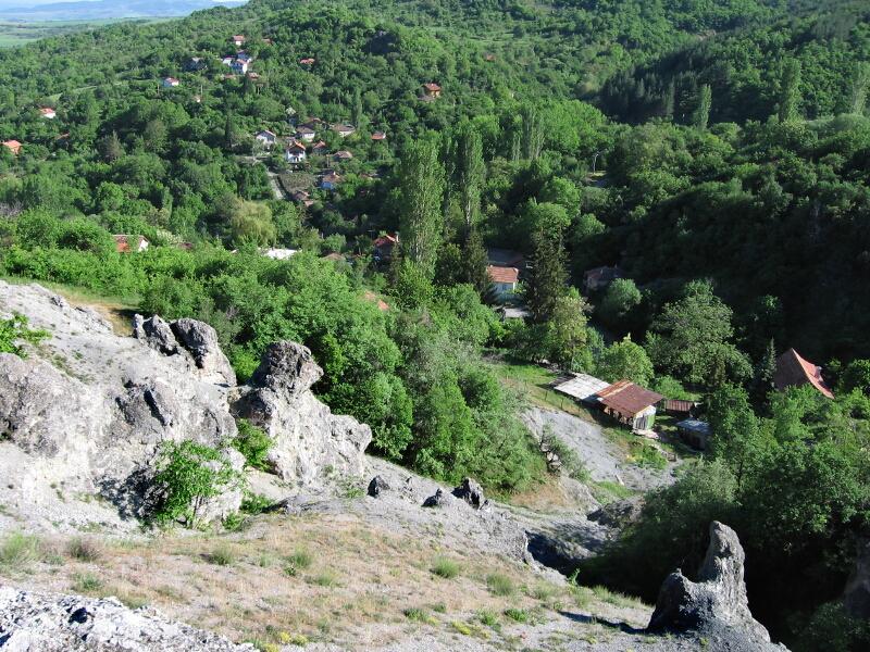 Централната част на селото