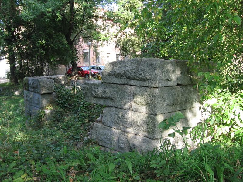 Крепостната стена на антична Германия