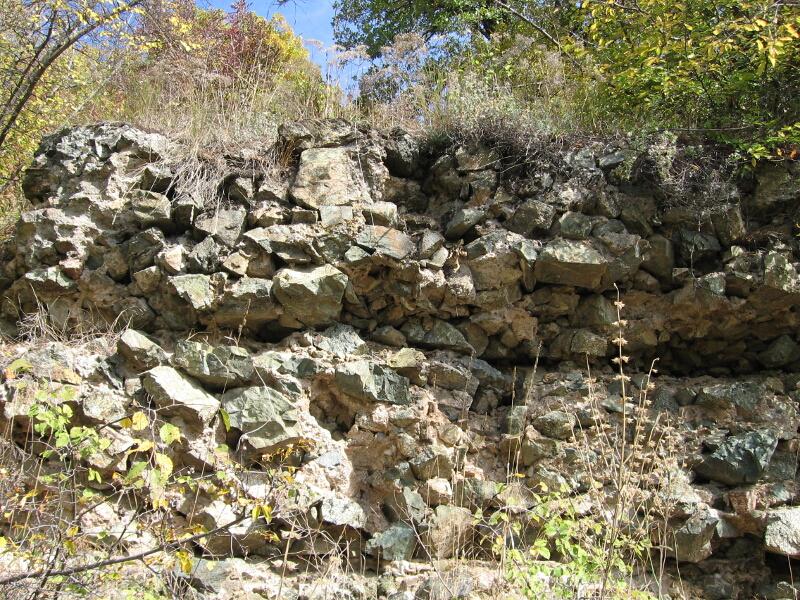 Част от крепостната стена