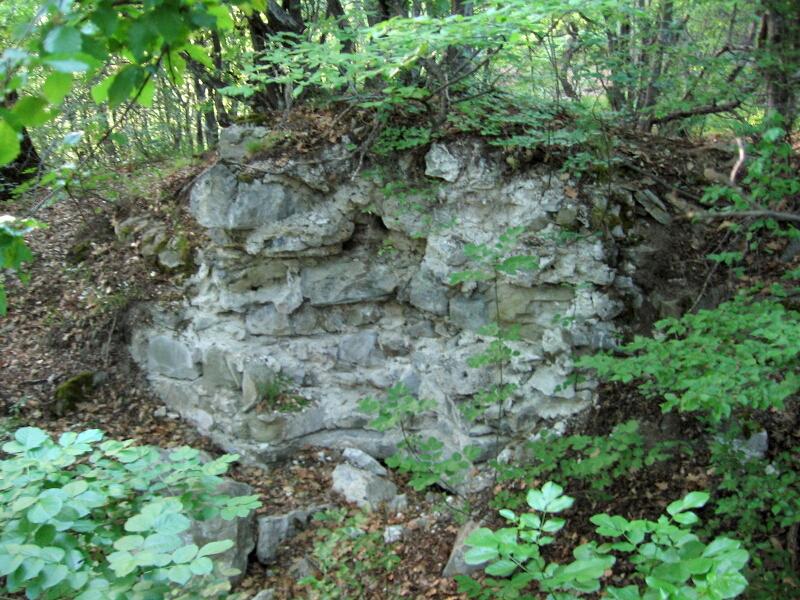 Руините на средновековния манастир