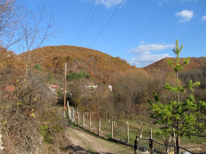 Пейзаж от с. Долно Ново село