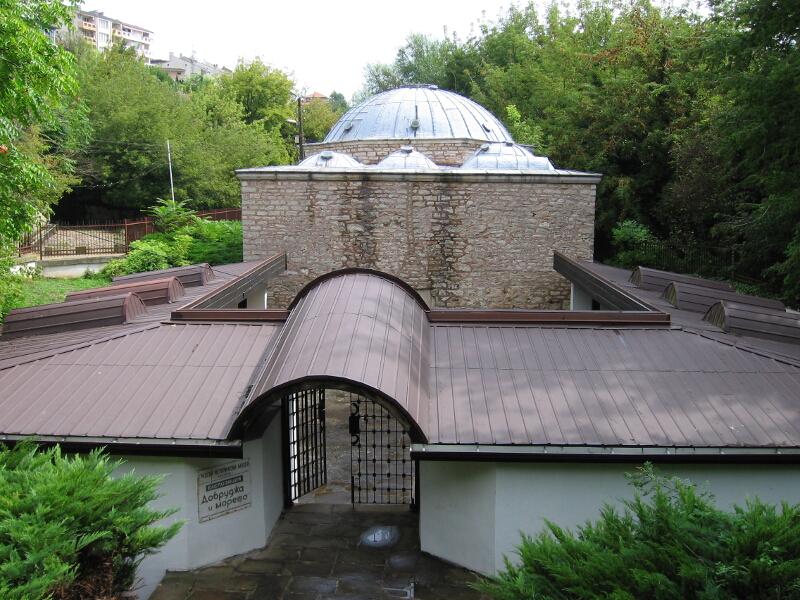 """Турската баня с поместената в нея експозиция """"Добруджа и морето"""""""