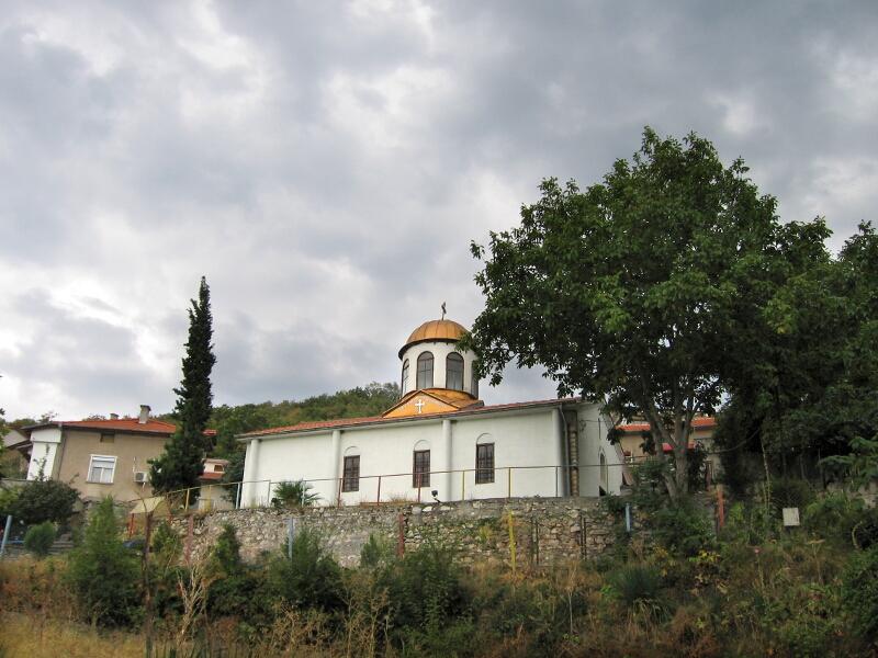 """Старинната воденска църква """"Св. Георги"""""""