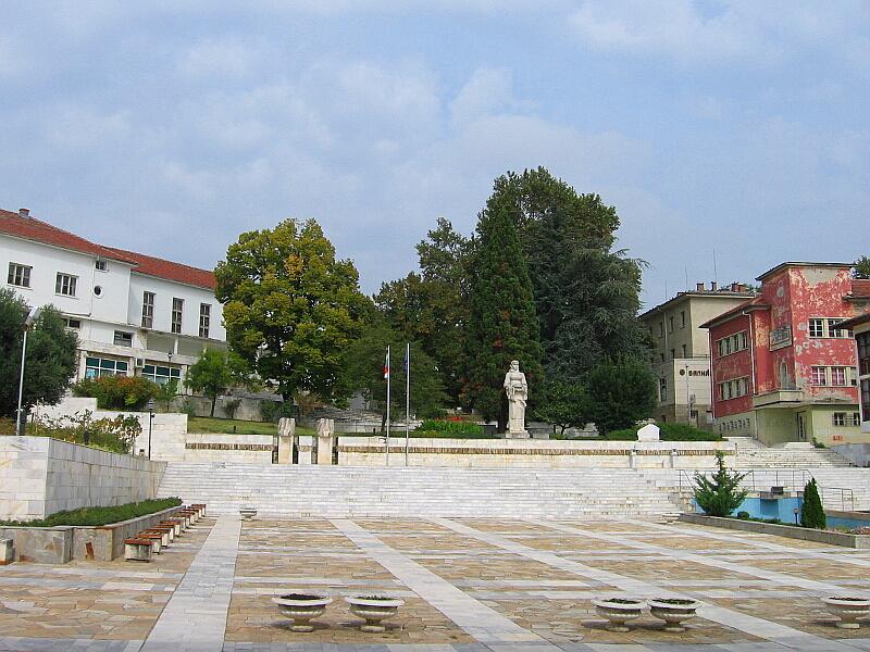 Центърът на Ивайловград