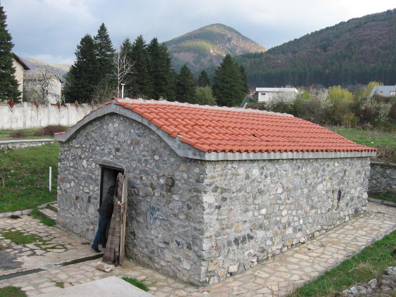 """Старата пералня """"Парилото"""", изградена върху римски каптаж"""