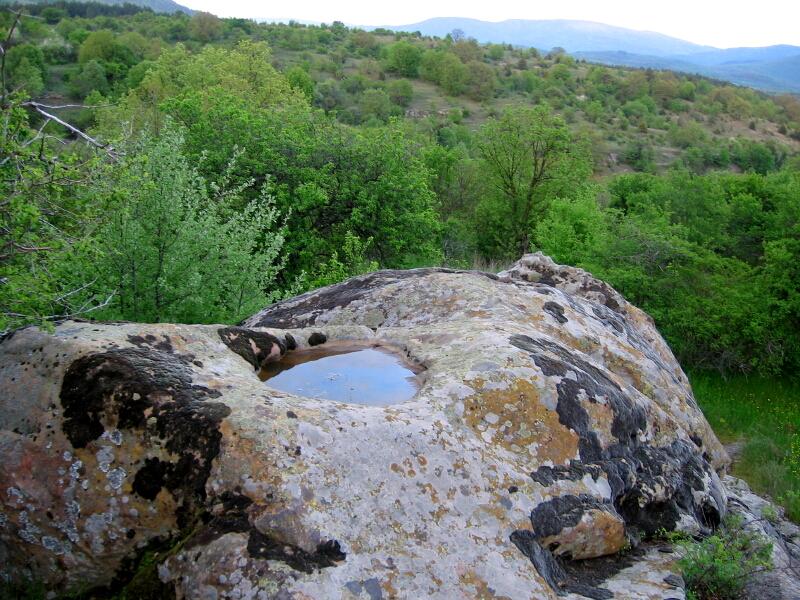 Древното светилище при махалата Дамянци