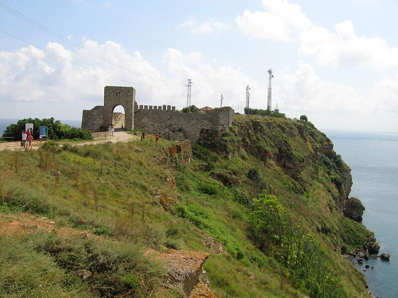 Нос Калиакра с част от крепостта