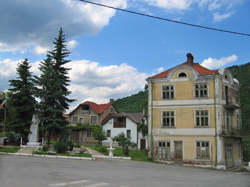 Центърът на Горановци