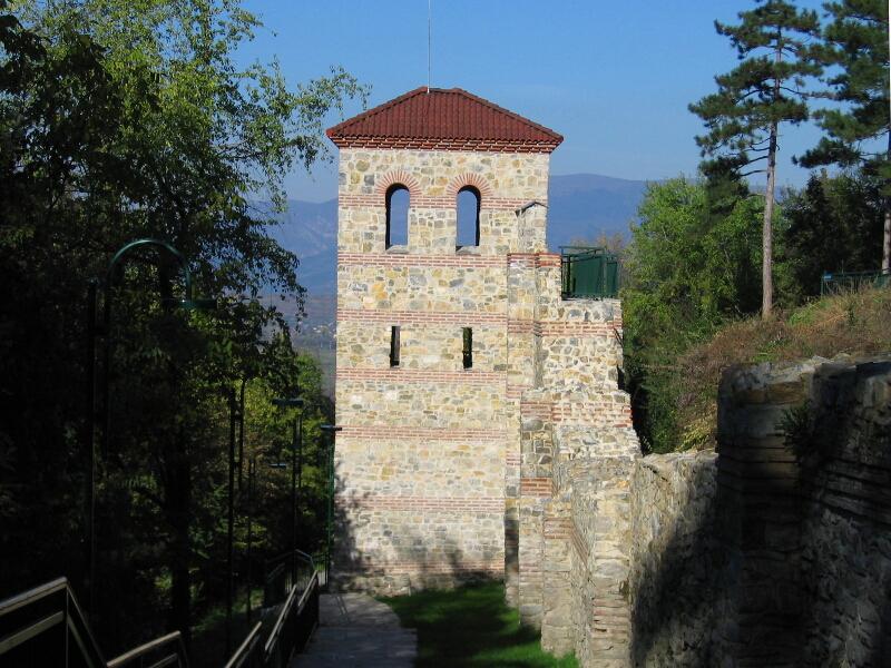 Крепостта на средновековния град Велбъжд
