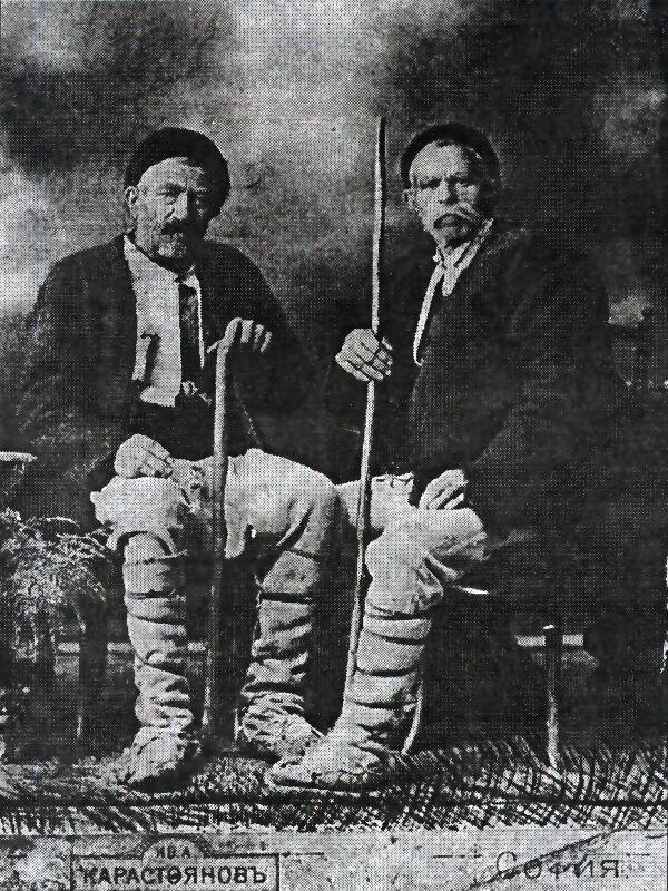 Хаджи Иван Велков и Петре Пугьов - самоуки инженери на Сапаревската вада