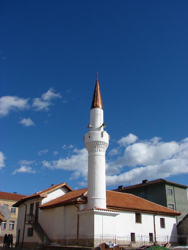 Джамията в Нова махала