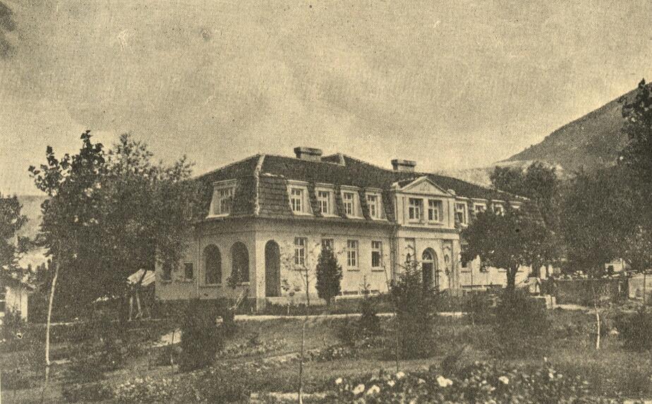 Сградата на държавната баня, 30-те години на XX в.