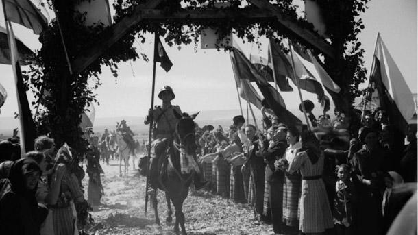 Посрещане на българска войска в Южна Добруджа