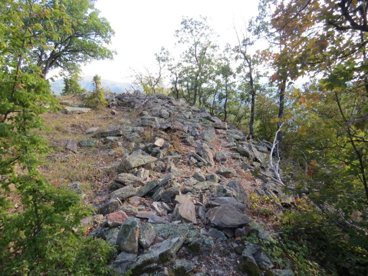 """Руини от крепостта """"Киево кале"""""""