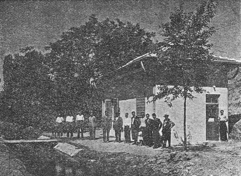 Помпената станция в Ямборано
