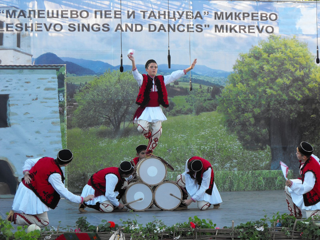 """На сцената на Фестивала """"Малешево пее и танцува"""" (фото: Стоян Петков)"""
